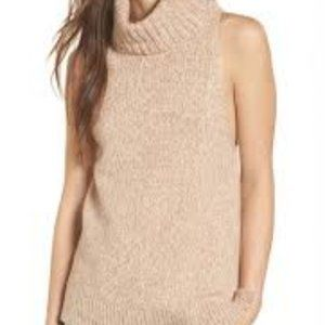 Madewell I Sleeveless Turtleneck Sweater I